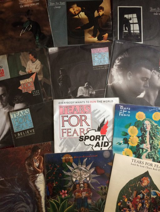 Happy birthday Roland Orzabal here listening some of your music today