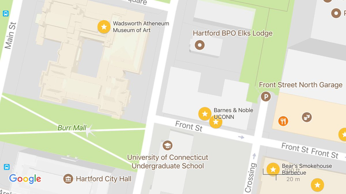 Hartford Hospital Campus Map.Nick Addamo On Twitter New Uconnhartford Campus Uconn Barnes
