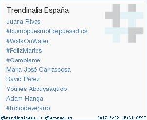 'Adam Hanga' acaba de convertirse en TT ocupando la 9ª posición en España. Más en trendinalia.com/twitter-trendi… #trndnl