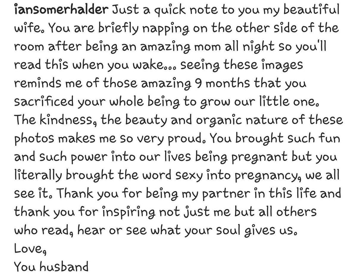 I need a man like this, pleaseee  so beautiful  @iansomerhalder @NikkiReed_I_Am  https://www. instagram.com/p/BYEoErKAY64/  &nbsp;   #Goals <br>http://pic.twitter.com/LvazC5FySt