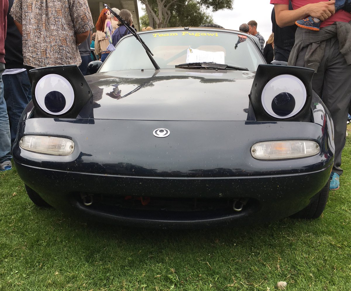 Zach Gale On Twitter The Googly Eyed Mazda Miata From The Concours