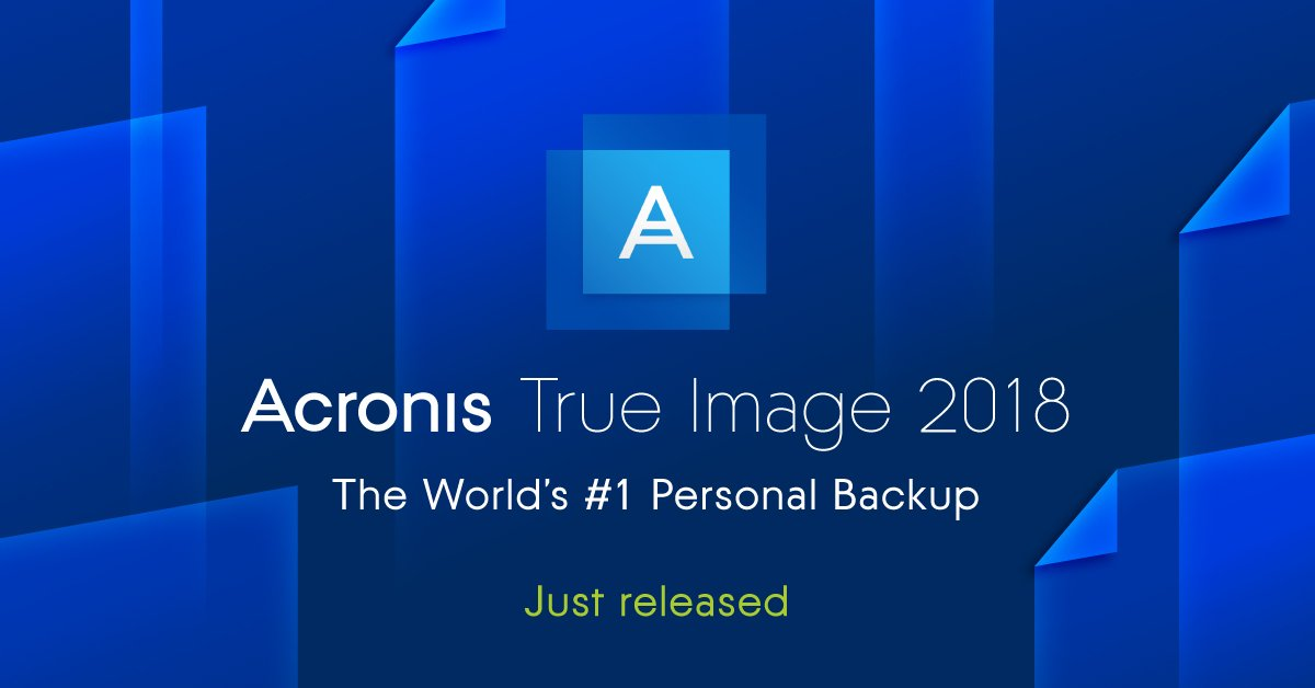 Acronis On Twitter Todays The Day Introducing Acronis
