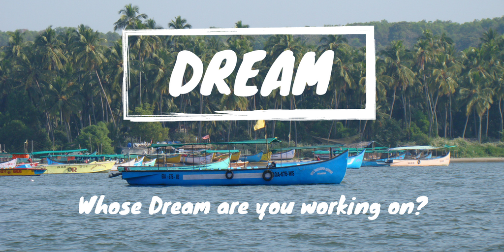 #2017. Whose #dream are you working on this year? Make sure it&#39;s yours! <br>http://pic.twitter.com/WY9yRJbZOn