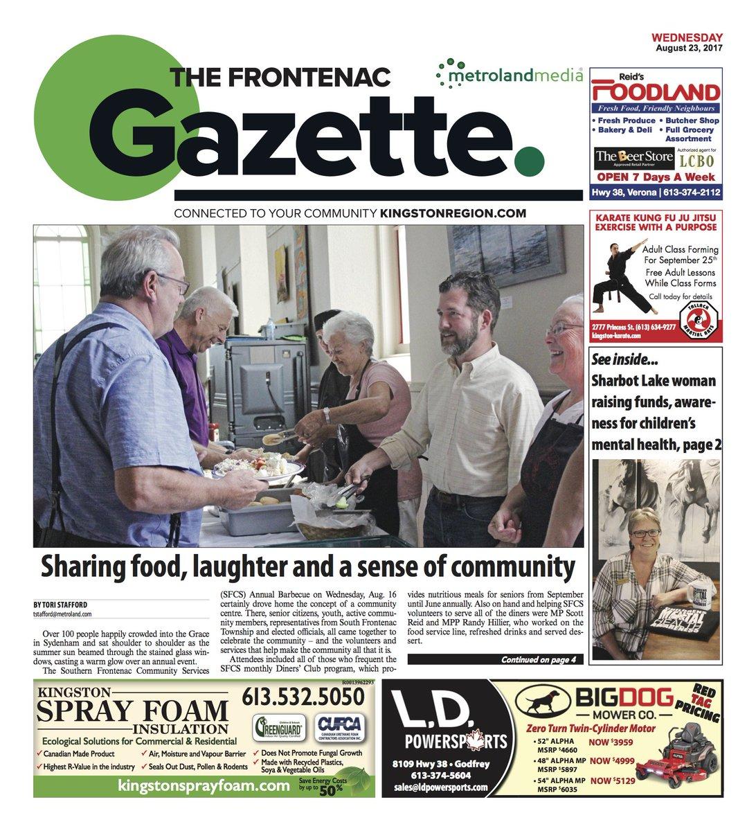 The Gazette has a brand new FB page! You&#39;ll make my day by giving it a like :-)  https://www. facebook.com/Frontenac-Gaze tte-114116359222334/?pnref=story &nbsp; …  … #ygk @SFrontenac @FrontenacCounty<br>http://pic.twitter.com/F1zIiBbKA0