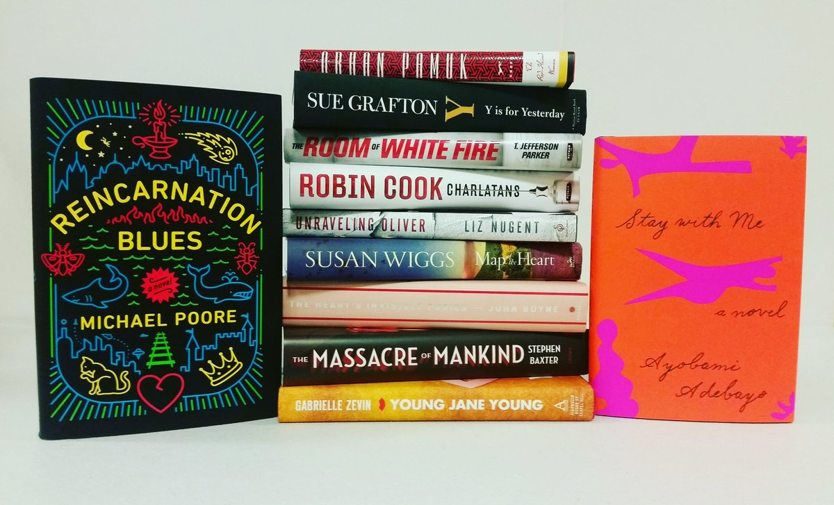 Here are some of this week&#39;s new additions! Which #books from #NewReleaseTuesday will you add to your #shelf? <br>http://pic.twitter.com/FPbsyAjUSB