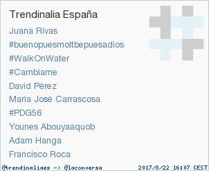 'Francisco Roca' acaba de convertirse en TT ocupando la 10ª posición en España. Más en trendinalia.com/twitter-trendi…