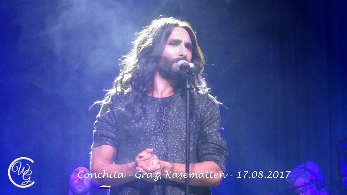 &#39;Pure&#39;  by @ConchitaWurst Graz - Kasematten   https:// youtu.be/e9bhgrCvSHM  &nbsp;   #conchita #summer #concert #conchitalive #eurovision #queen<br>http://pic.twitter.com/ZQbT23L5Qk