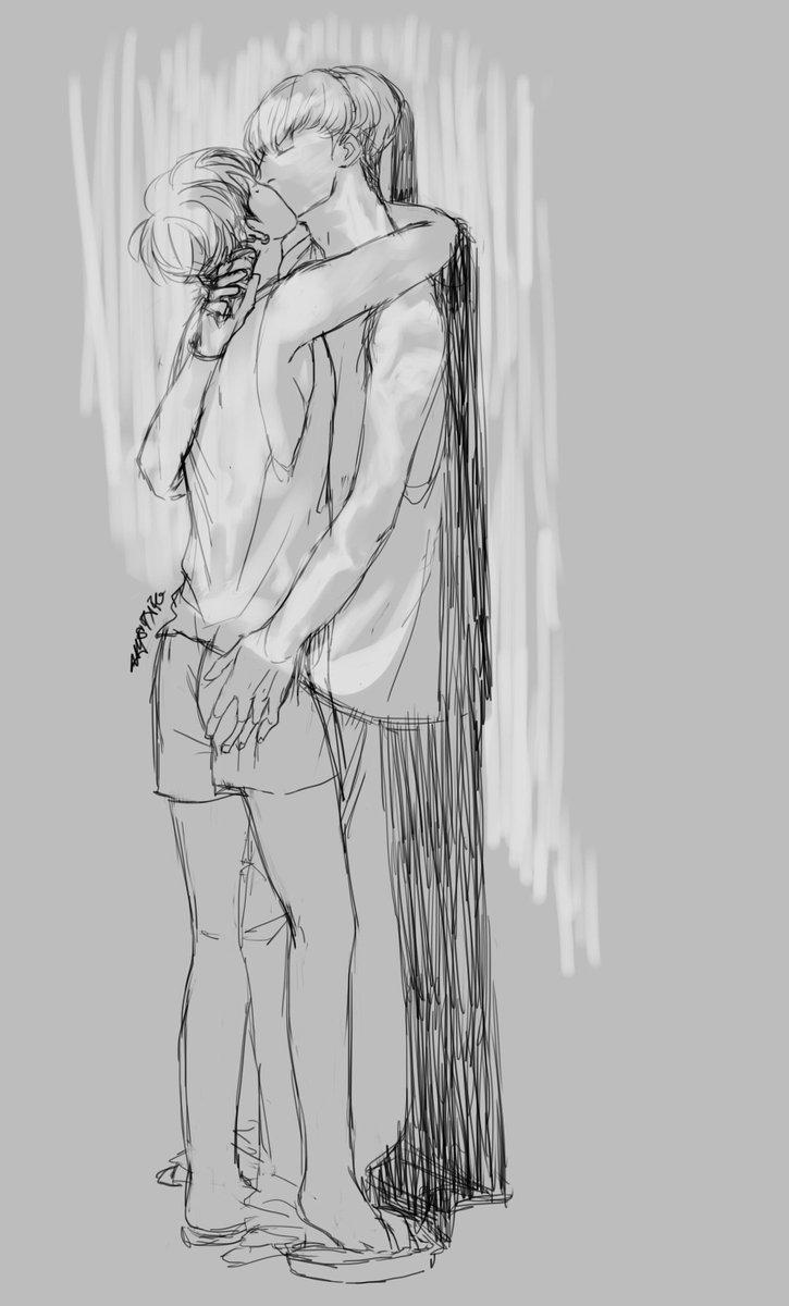 If you wanna kiss me ... #bjin #fanart #mystarfanart #binhwan #summer <br>http://pic.twitter.com/VSh0mDLrvv