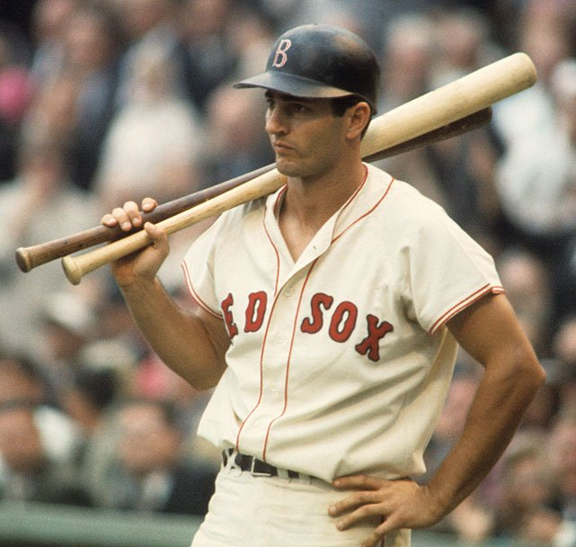 The great No. 8 is 78 today. Happy birthday, Yaz! (No undershirt required for Carl Yastrzemski!)