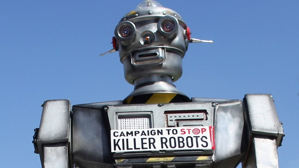 &quot;A killer robot is a fully autonomous weapon that can select &amp; engage targets without human intervention&quot; |  https:// buff.ly/2xlnLHO  &nbsp;   #twitter <br>http://pic.twitter.com/42dJcbbCei