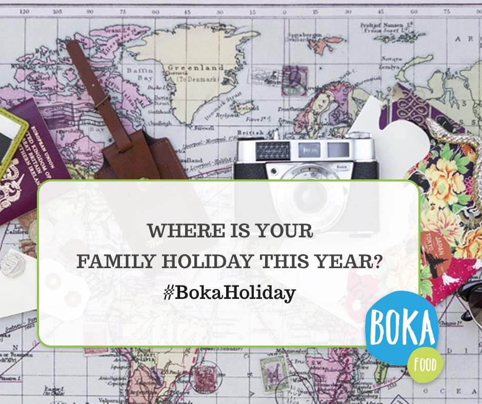 #Win a box of 10 #Boka bars! To enter, just tell us where is your family #holiday this year? #BokaHoliday<br>http://pic.twitter.com/HUs56vYRAi