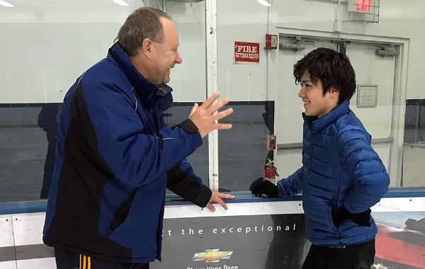 Alex Ouriashev has helped make Shoma Uno a masterful jumper -- and a true threat to win the Olympic gold medal: https://t.co/8LbYraBhTi