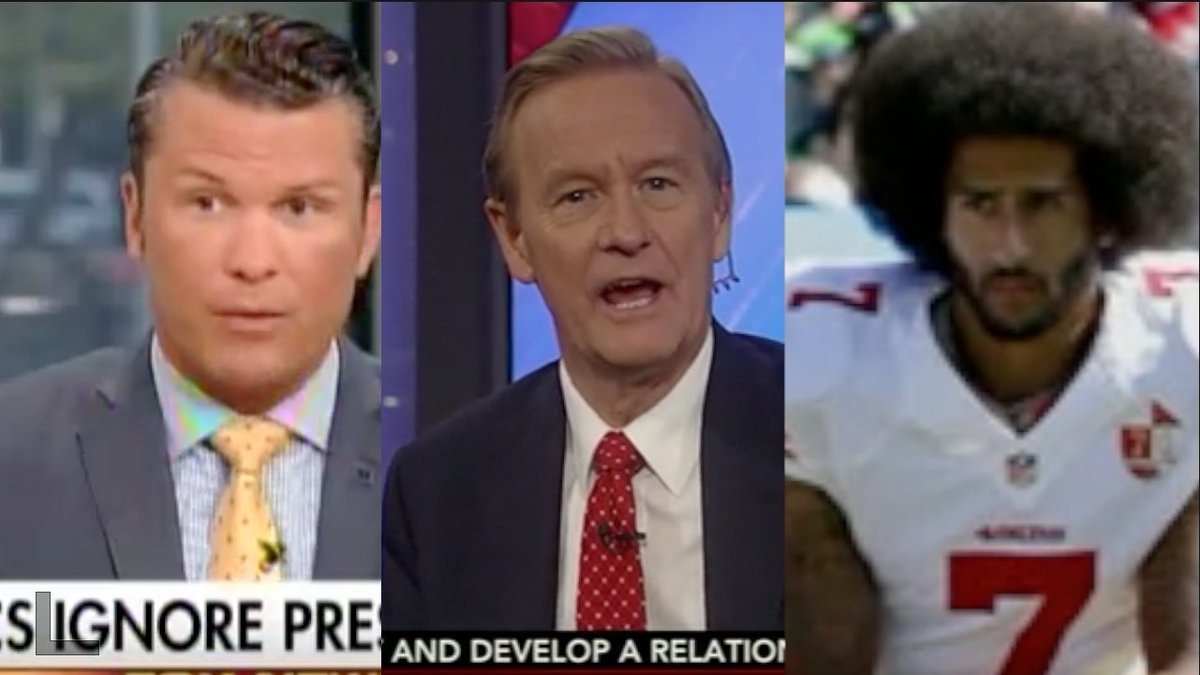 Fox News on players kneeling: This is outrageous!!  Fox News on neo-Nazis marching: Let's be understanding! https://t.co/SwCxTzEZIT
