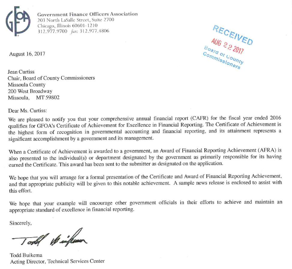 Congratulations to our Finance Director, Christi Page, for this well-deserved recognition! #Finance #Government #transparency <br>http://pic.twitter.com/DBdoyCJIjn