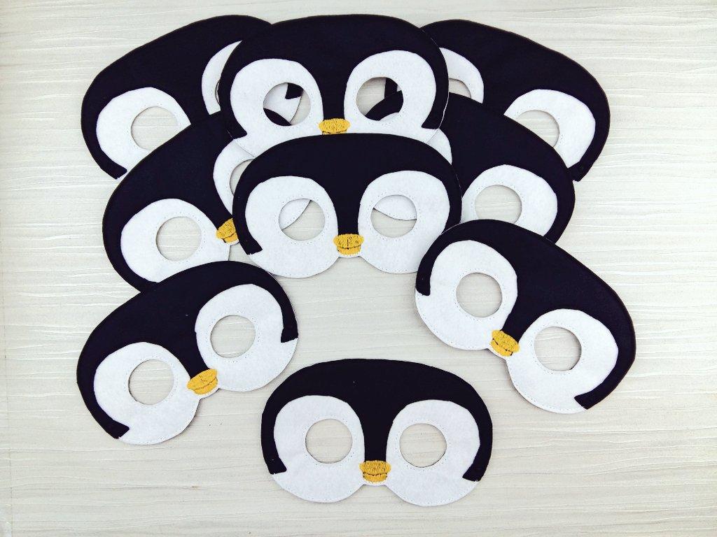 Penguin Masks instore  https://www. etsy.com/uk/aheartlycra ft/listing/513669726/penguin-mask-felt-penguin-mask-for &nbsp; …  #penguin #mask #halloween #cupcakehour #womaninbiz #smallbiz #ATSocialMedia #handmade #htlmp<br>http://pic.twitter.com/MrWkP5AQem