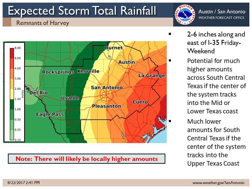Nws Austin San Antonio On Twitter Quot An Initial Look At