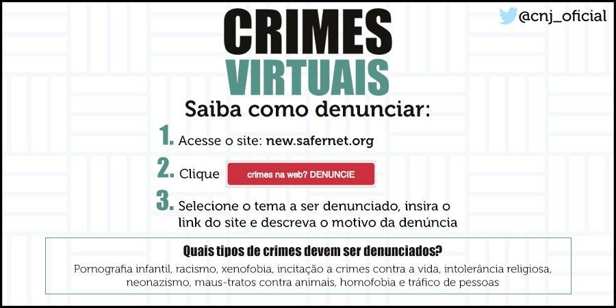 Viu algum site suspeito? Saiba como denunciar e contribuir para uma internet melhor: https://t.co/zqwNQC1jbD @safernet 📣