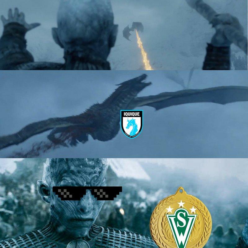 Todo dragón tiene su punto débil. Nos vemos el viernes amigos de @ClubDIquique