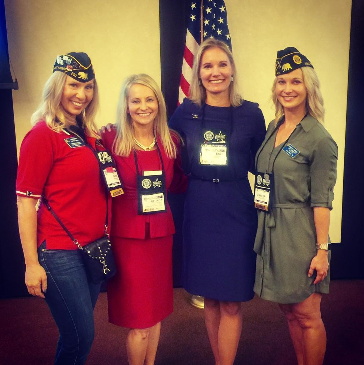 Our 2nd Vice Cmdr, @JenCampbellLA at the @AmericanLegion Conference for Women at #alconv2017 #veterans #womenvets #leaders @SBAgov #vboc<br>http://pic.twitter.com/qSzqXN5DKd