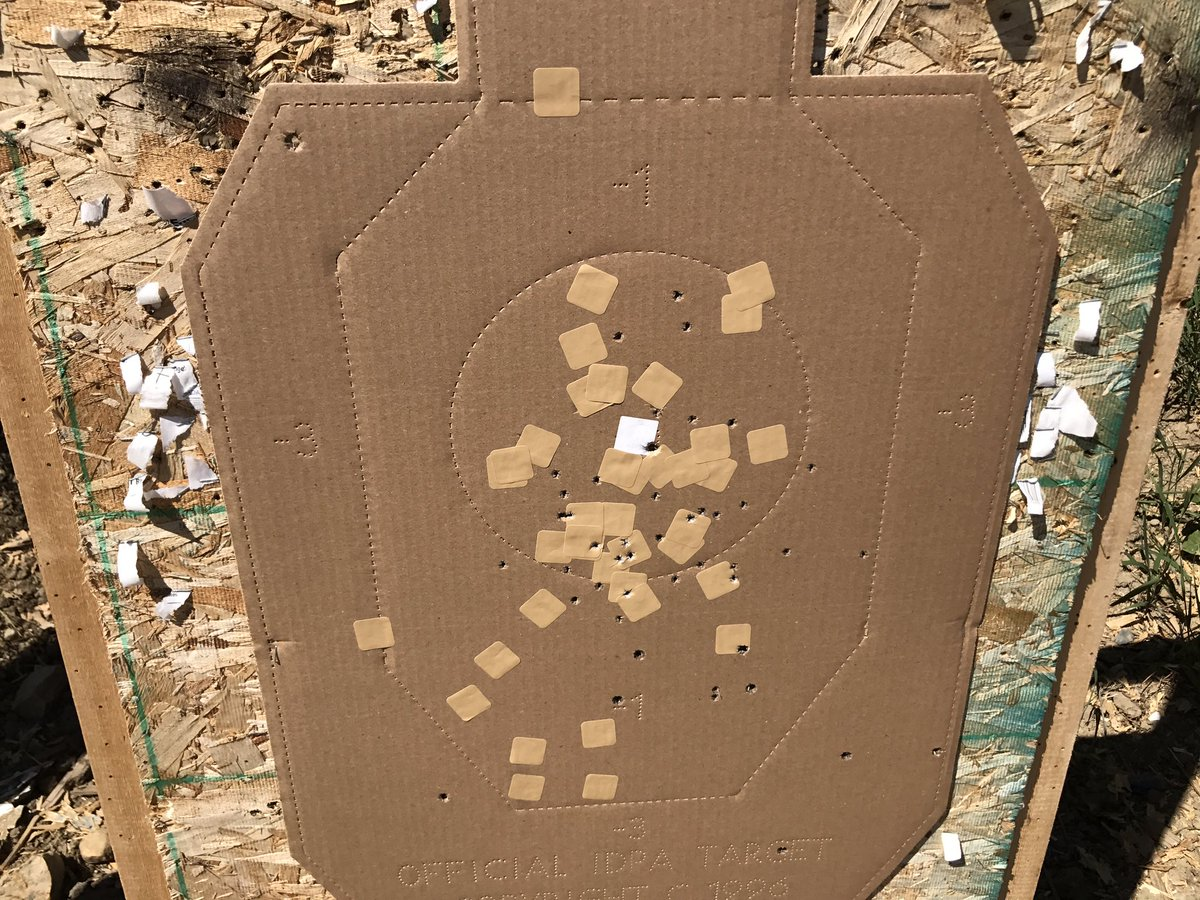 Target from the #Gun and #Rifle #Range  Shot: 9mm Pistols, Russian #Tokarev; .22 Rifle, and Russian SKS.  #FunTimes<br>http://pic.twitter.com/9y0cah2tTb