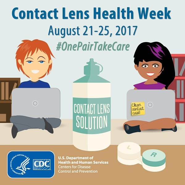 It&#39;s Contact Lens Health Week!    http:// goo.gl/cEhjvM  &nbsp;    @CDCgov #eyehealth #eyecare #onepairtakecare #tucson  #nationaleyeexammonth<br>http://pic.twitter.com/xjopQTYn6R