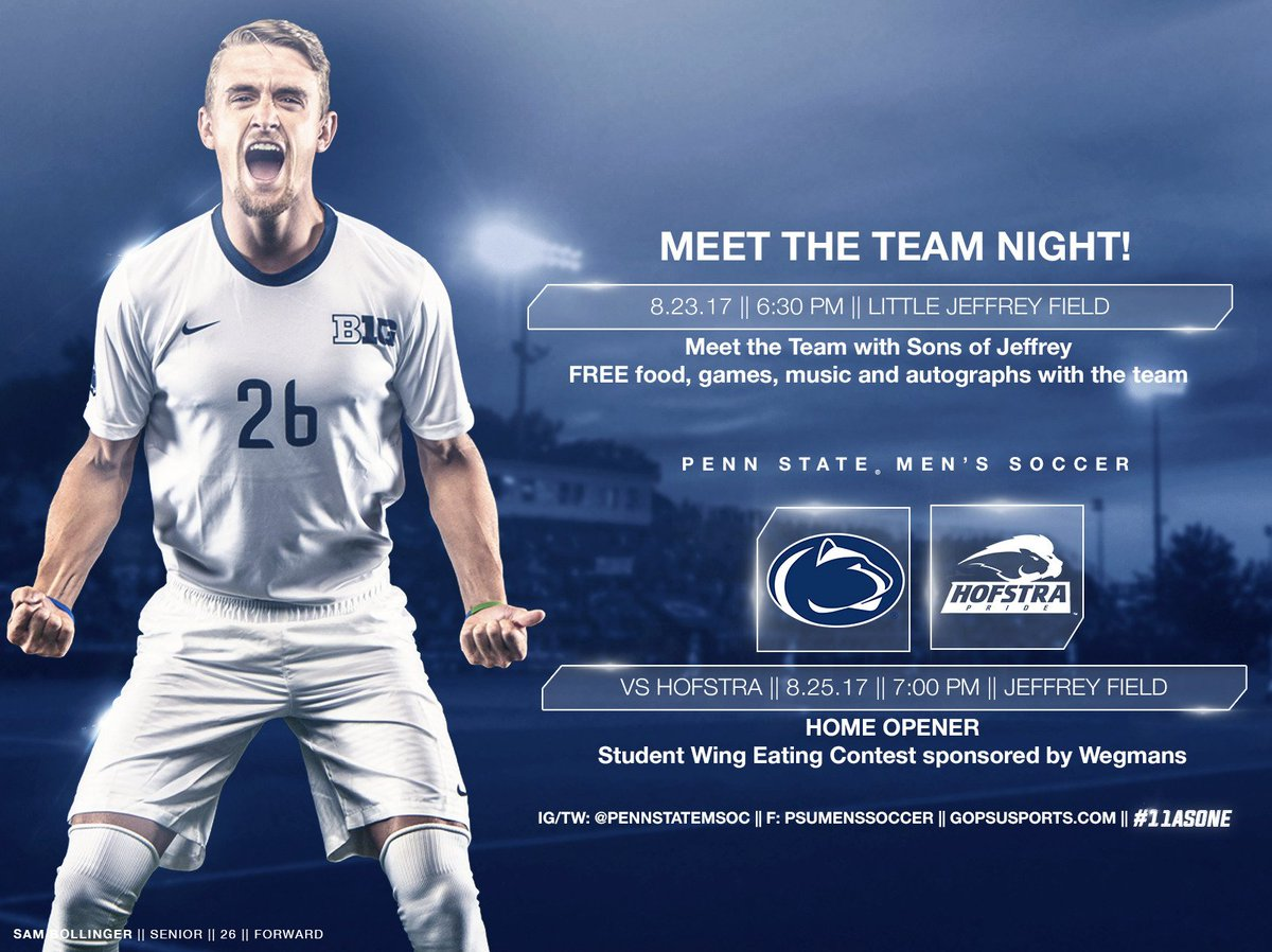Penn State Mens Soccer On Twitter Join Us Tomorrow Night At
