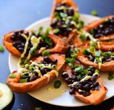 Loaded Sweet Potatoes! #HealthBenefits #Veggies #SweetPotato #Vegetarian #Beans #Kids #LoveThem #WeHaveEverything #EdenGarden #Mississauga<br>http://pic.twitter.com/bedpCYX4ld