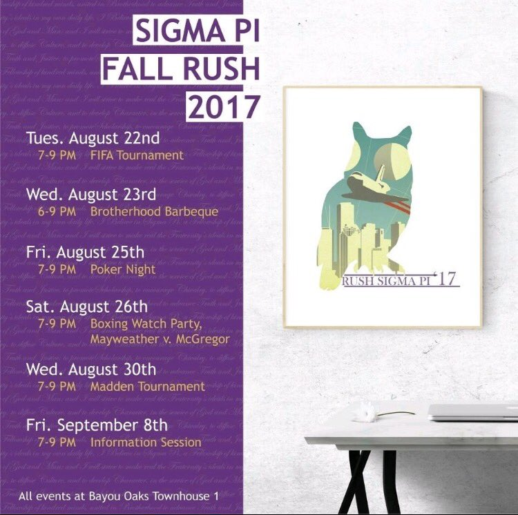 87a9ce0b42ae UH Sigma Pi on Twitter