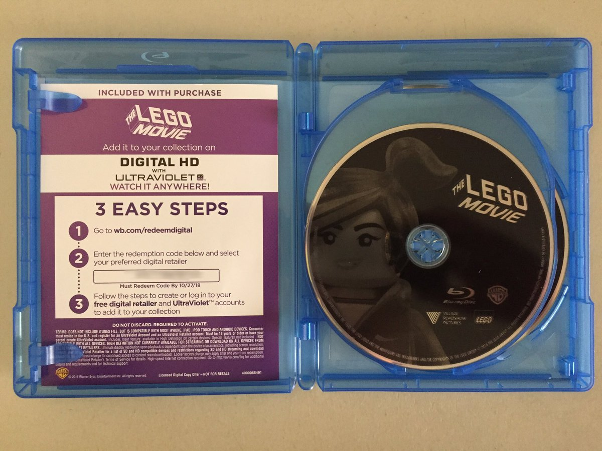 The lego movie [french] steelbook blu ray review youtube.