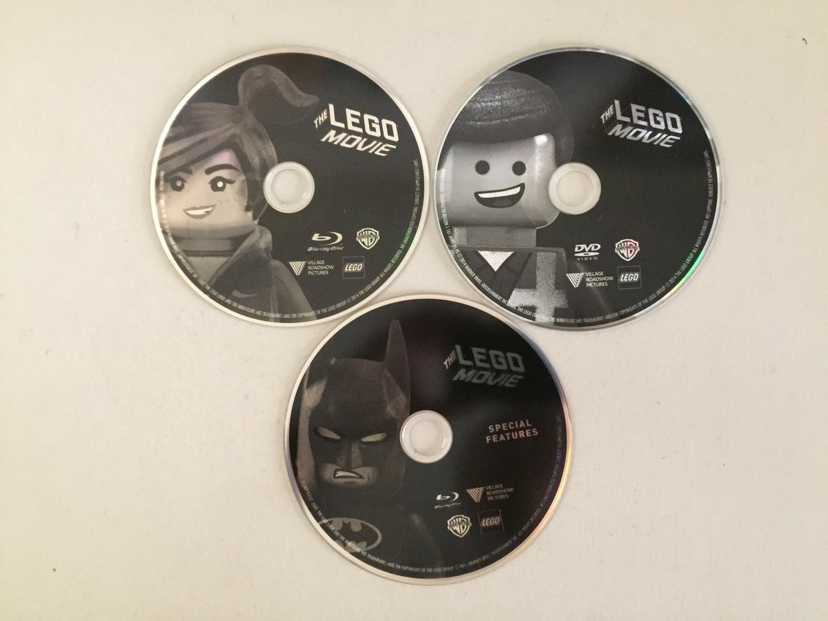 The lego movie: the special special edition blu-ray.
