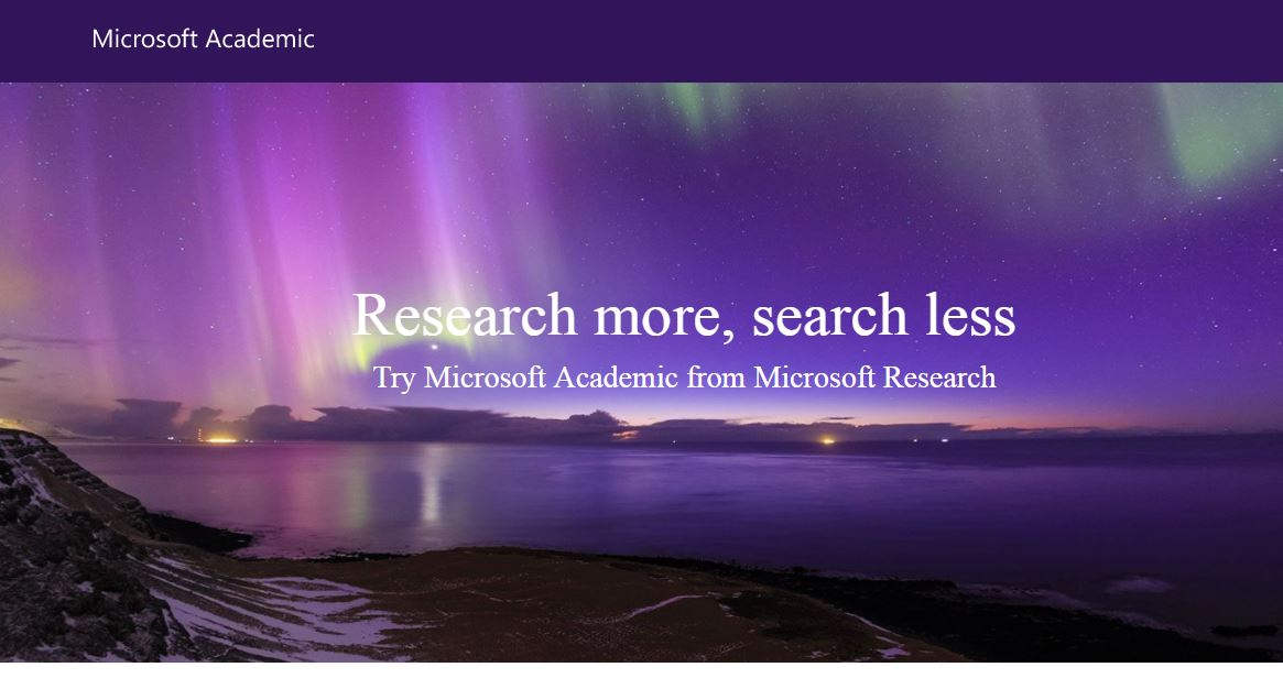 Searching the Research: #MicrosoftAcademic underwent a significant update to focus on semantic &amp; query suggestions  https:// academic.microsoft.com/#/faq  &nbsp;  <br>http://pic.twitter.com/MOX2v7c7M1