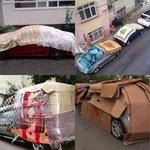 #yağmur Arabalar yağmura hazır da belediyeler hazı...