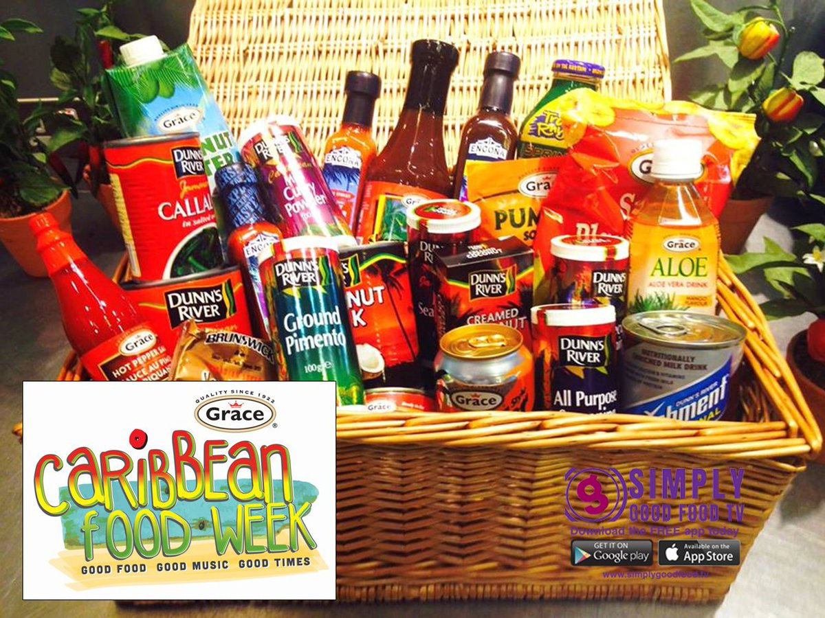 #FreebieFriday #Win a Caribbean food hamper for a chance to win RT &amp; follow @sgftv &amp; @CaribbeanFoodWk by 6pm this Friday<br>http://pic.twitter.com/galbnWx8Te