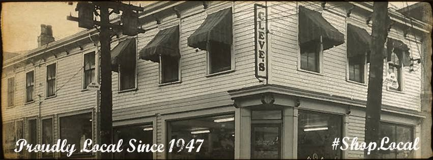 Cleve&#39;s has been locally owned &amp; operated since 1947. Wow! We&#39;re celebrating 70 years! #shoplocal @ILOVELOCALHFX<br>http://pic.twitter.com/yYd3s31oS6