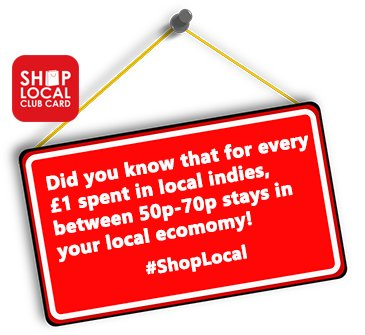 Shop Small. Shop Independent. Keep your money working locally. #ShopLocal <br>http://pic.twitter.com/IawEr2ZpQU