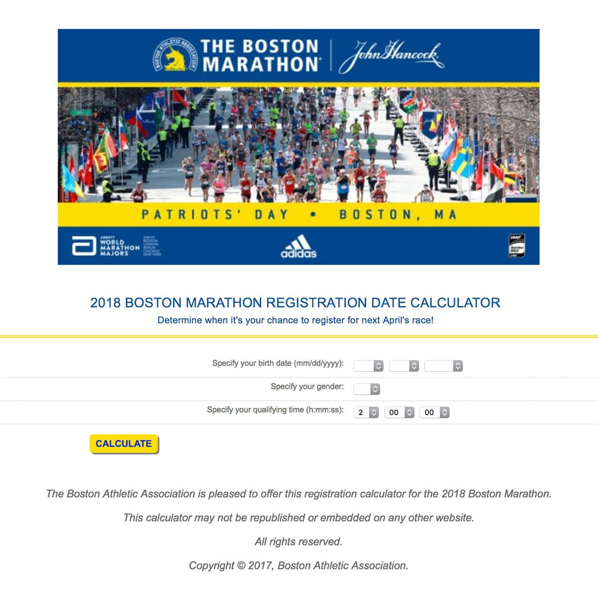 Date Time Boston And Marathon 2018