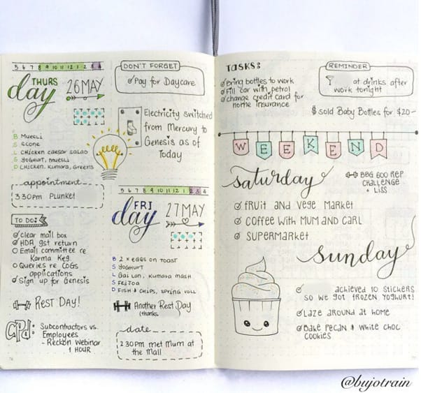 Gorgeous #bulletjournal layouts to inspire you. #bujo #stationery #journal  http:// bzfd.it/2bZ4HcT  &nbsp;  <br>http://pic.twitter.com/Uc13SXEwsl