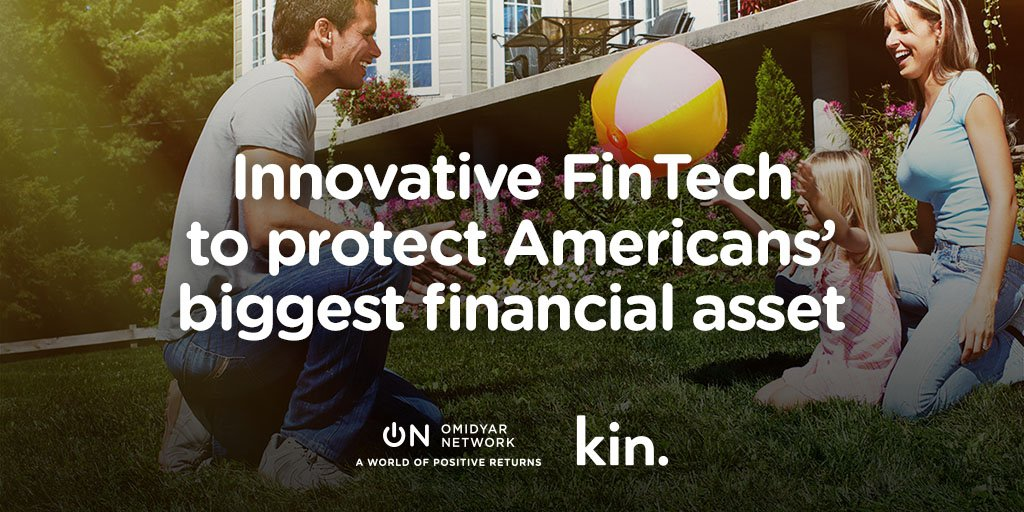 How can #FinTech help Americans protect their homes & financial futures? Read about new investment in @kinsured https://t.co/W8YR1bwWfE