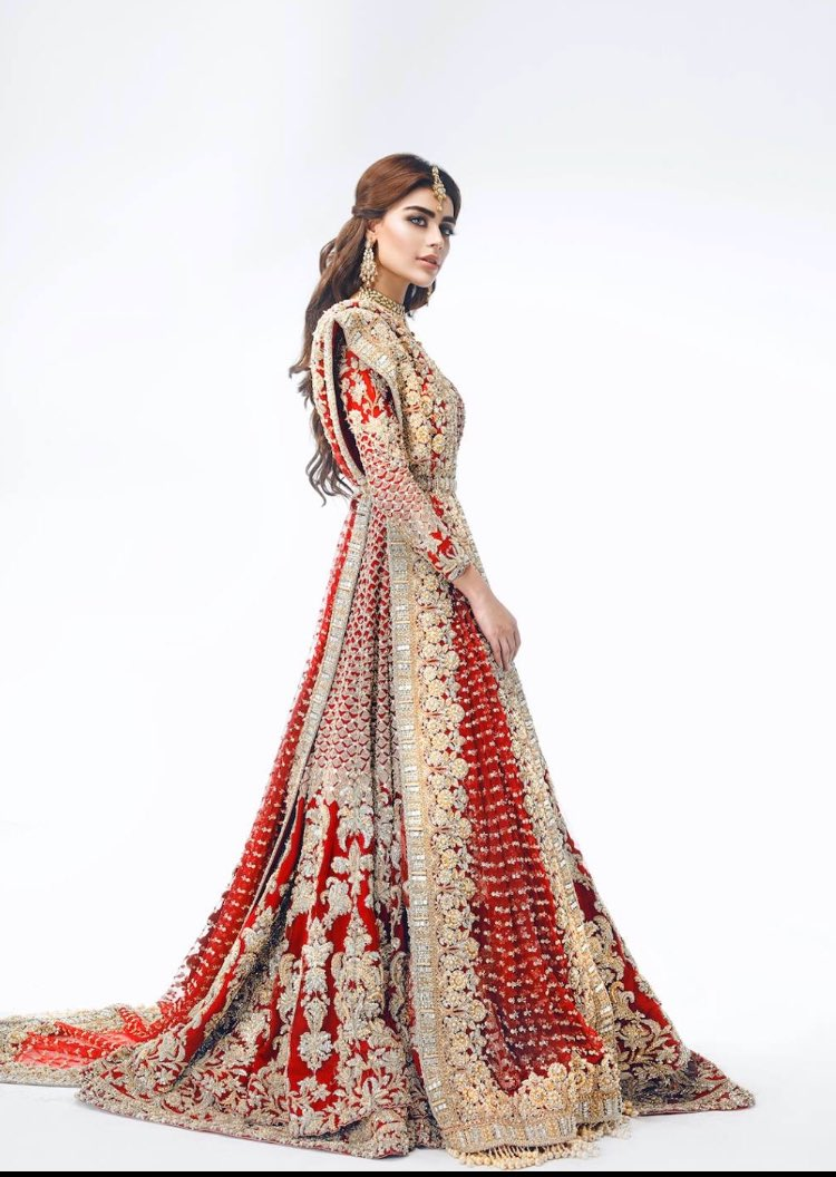 949f0289ee Sadaf Kanwal for Republic Womenswear Bridals 2017pic.twitter.com/e7sBTcIdlL