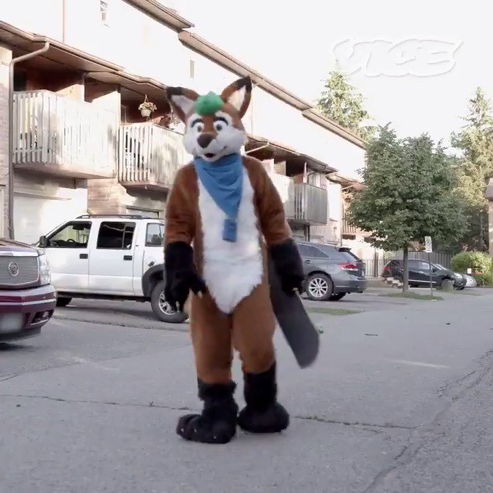 Meet the furries who say the community has saved their lives.   Watch more: https://t.co/NkKWQBI8HH https://t.co/N8l0bCaig2