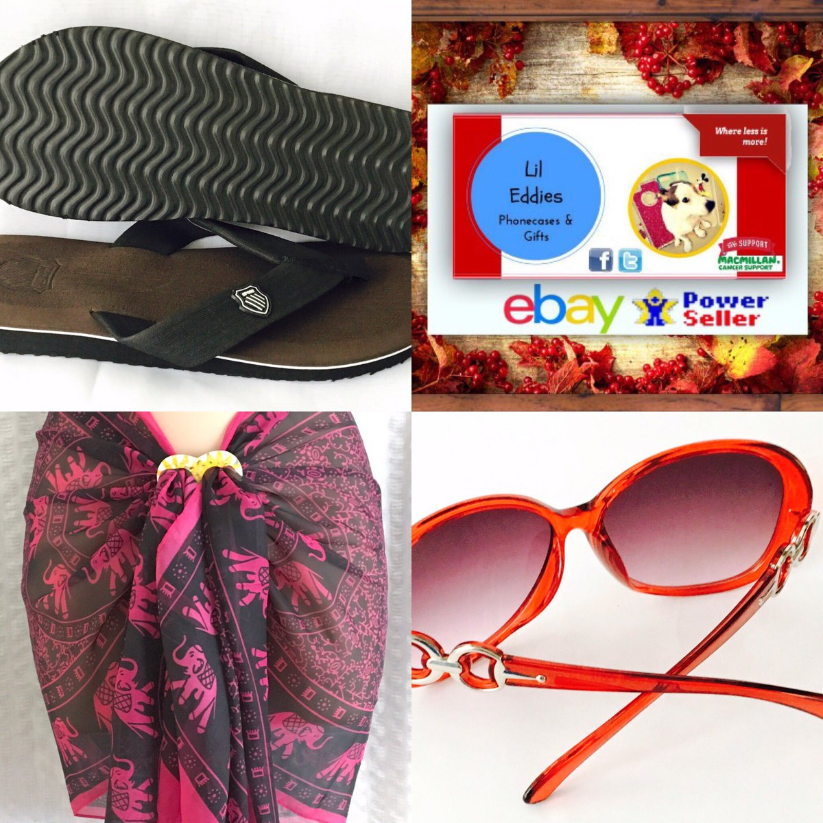 Enjoy your #HOLIDAYS @LilEddies with our #SUMMER #SALE #Flipflops #sunglasses    http:// Stores.shop.ebay.co.uk/lil-Eddies-Pho necases-and-gifts &nbsp; …   RT FOLLOW 4 a chance 2 WIN a PRIZE<br>http://pic.twitter.com/4rSc1p1rdA