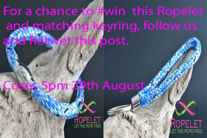 For a chance to #win this Ropelet and keyring bundle, Retweet this post, follow us by 5pm 29.8.17 . #Competition   http:// ropelet.co.uk  &nbsp;  <br>http://pic.twitter.com/t3pdtzQRiM