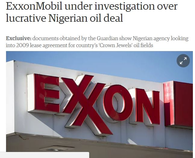 #oil anti #corruption safeguards needed; see @Global_Witness report on suspect #Exxon #Nigeria deal worth billions  http:// bit.ly/2jnBeL5  &nbsp;  <br>http://pic.twitter.com/TXPS6yfdNX