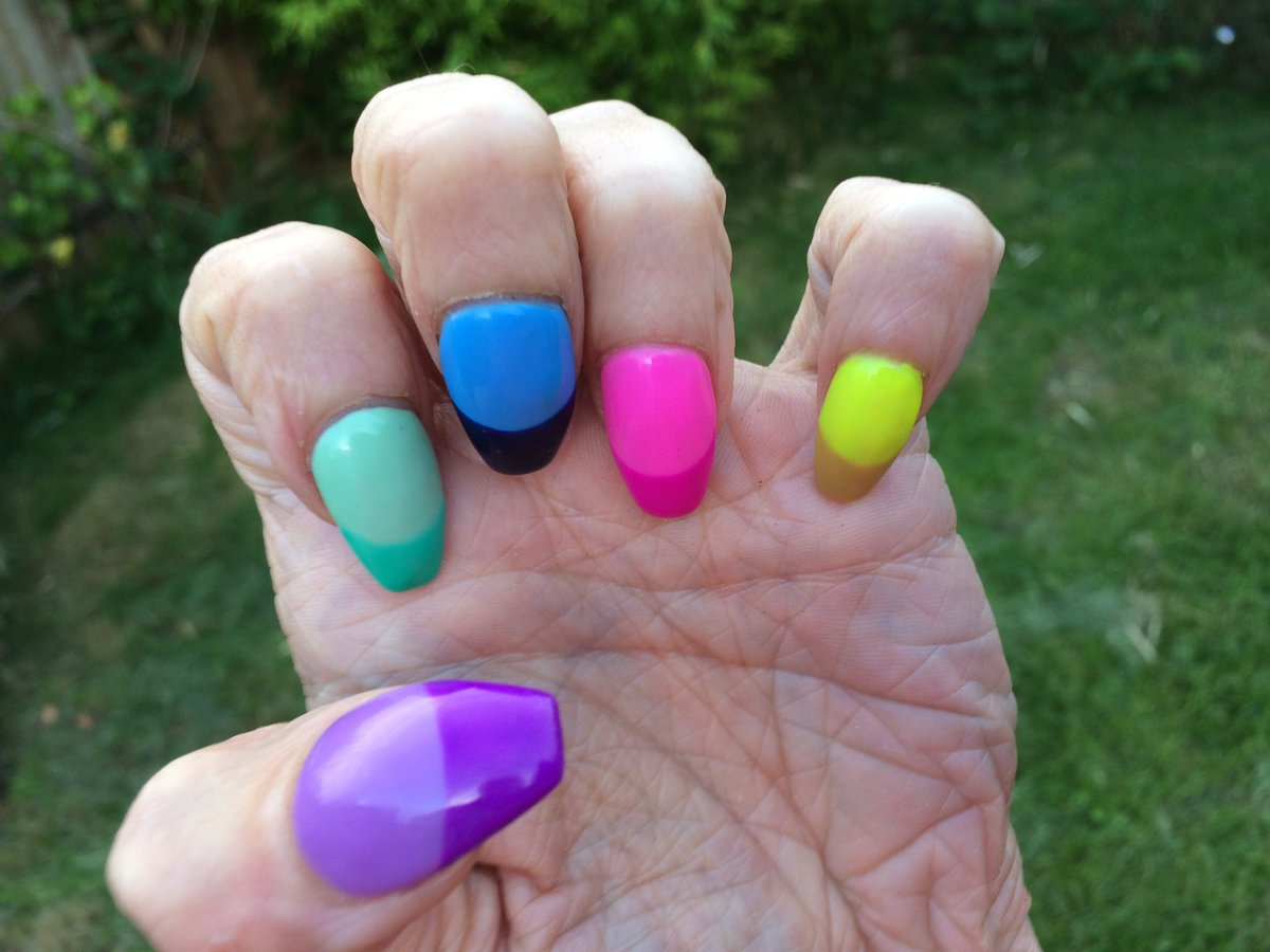 Vanessa Wishart On Twitter Latest Crayola Inspired Nailart And