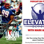 Guest #NFL Star @JasonCarthen Story of #Faith & #Leadership on #ElevatingBeyond  -->https://t.co/77EU3tZReX