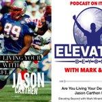 Guest #NFL Star @JasonCarthen Story of #Faith & #Leadership on #ElevatingBeyond  -->https://t.co/77EU3tZReX