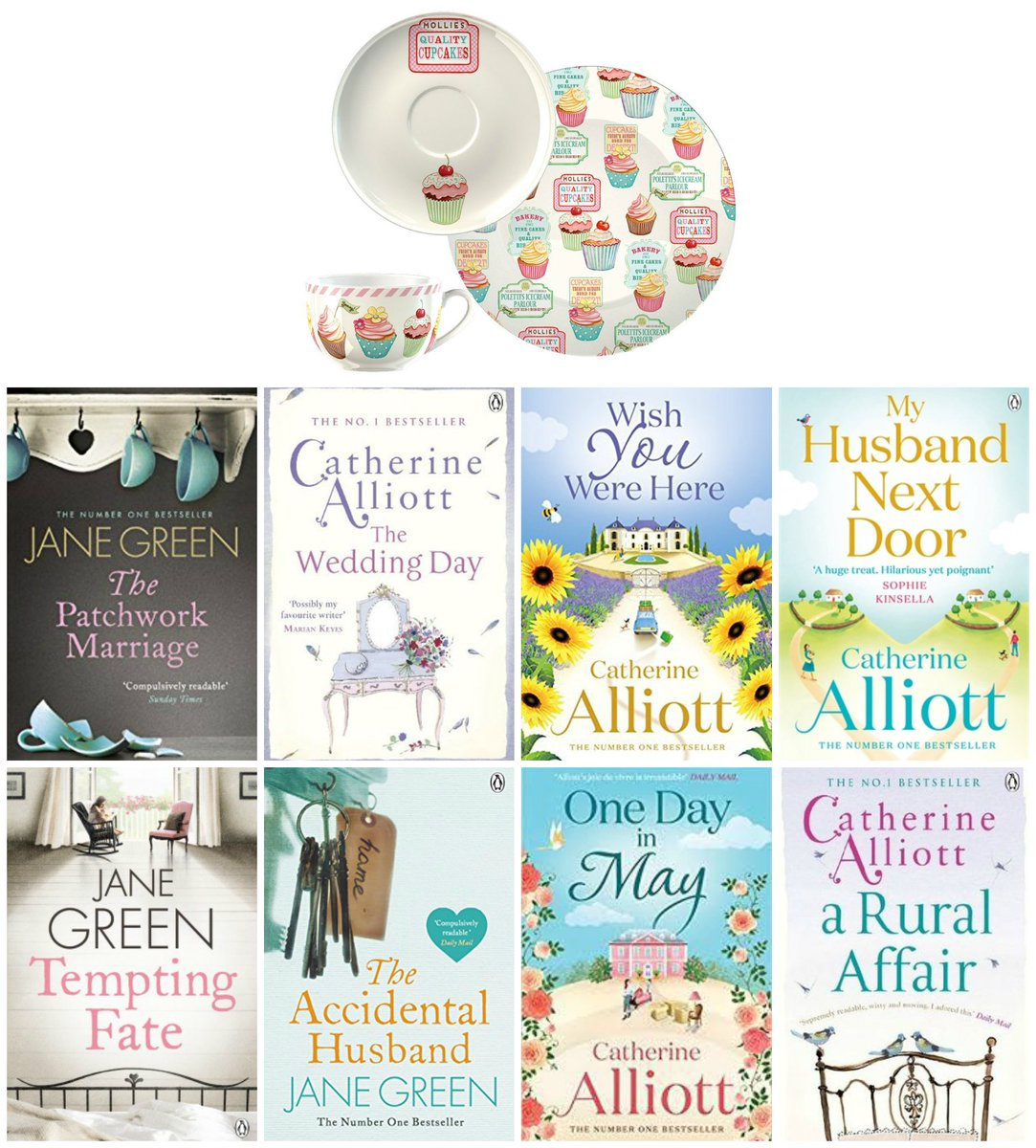 International #giveaway, #win 8 #books by Jane Green &amp; Catherine Alliott and a #cupcakes cup, saucer and plate set!   http://www. withloveforbooks.com/2017/08/books- by-jane-green-and-catherine.html &nbsp; … <br>http://pic.twitter.com/iM3y6oX8P0