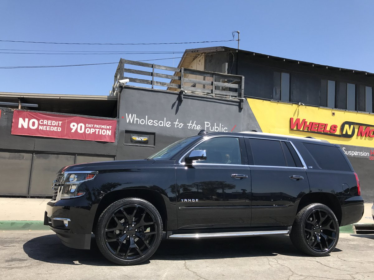 Wheels N Motion On Twitter 2015 Chevy Tahoe On 24 Sierra Wheels