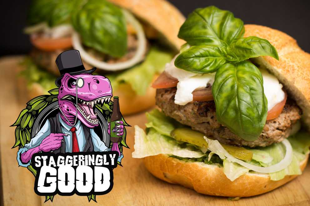 #win @staggeringbeer beer and our tasty burgers and buns. FOLLOW + RT and it could be yours. Winner announced 1 Sept<br>http://pic.twitter.com/153FIgF1P5