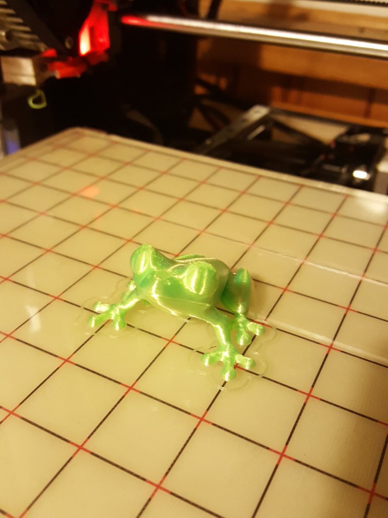 Just a little print with some of the filament from @SpannerHands3D ...